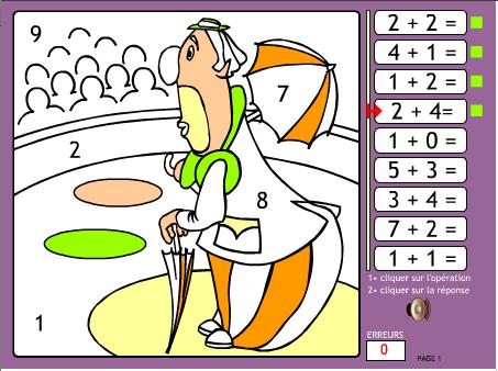 Coloriage En Ligne Educatif.Pepit Des Exercices Educatifs De La Maternelle Au Secondaire
